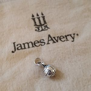 James Avery Volleyball Charm